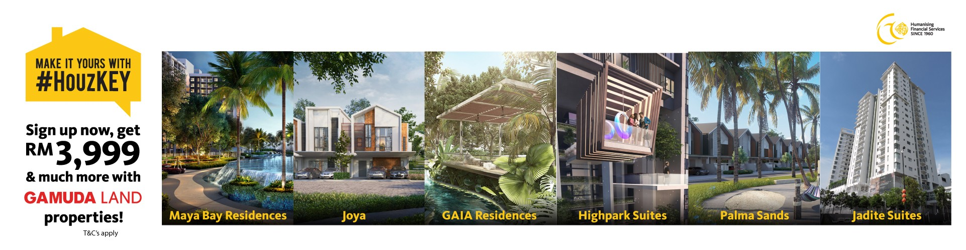 Get RM3,999 & much more for Gamuda Properties this October 2020!