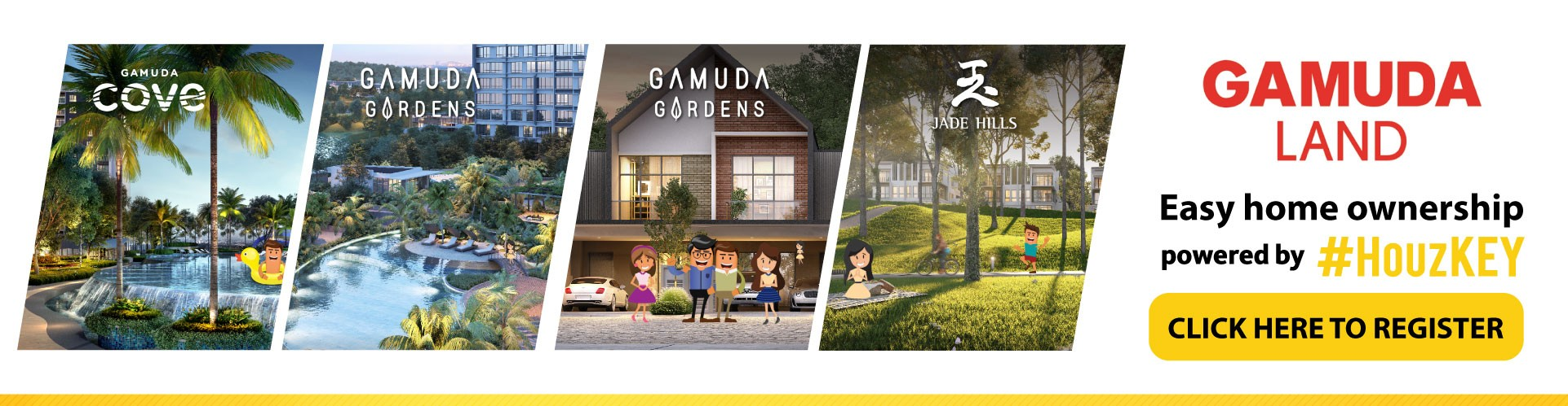 Gamuda Land homes - Register Here!