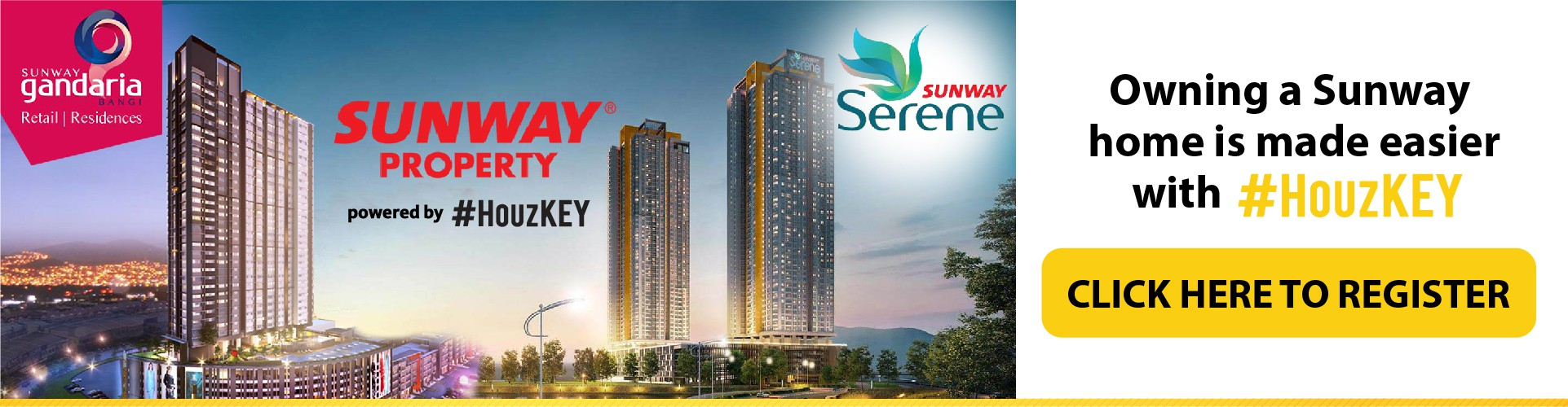 Sunway Property Homes - Register Here