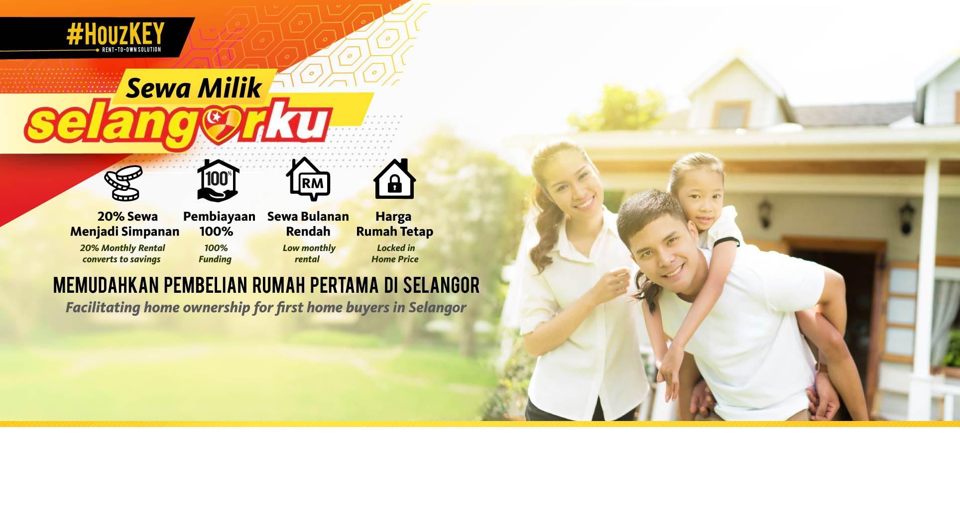 Miliki Rumah Selangorku dengan Maybank HouzKEY